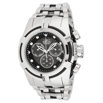 Invicta 23908 Men's Bolt Zeus Black Dial Steel Bracelet Dive Watch