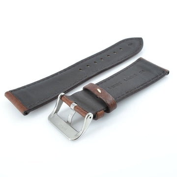 Hadley Roma BHR-M906-26R22-12 26mm Brown Leather Watch Strap