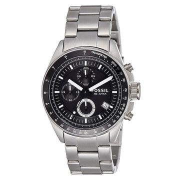 Fossil CH2600IE Decker Men's Steel Bracelet Chrono Watch