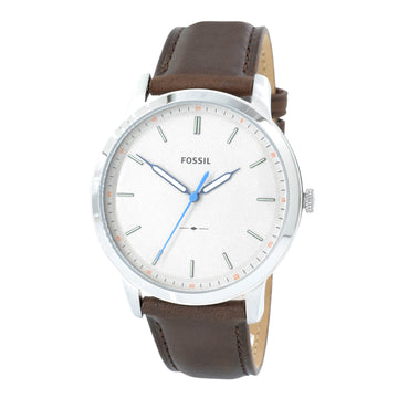 Fossil FS5306 The Minimalist Men's Slim Grey Dial Watch