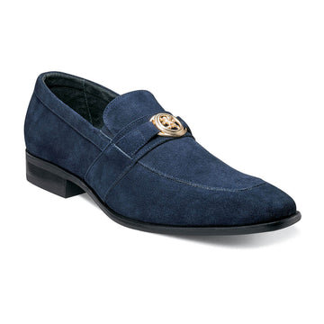 Stacy Adams 25107-415 Men's Mandell Navy Slip On