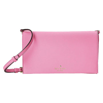 Kate Spade PWRU4341-679 Women's Cedar Street Cali Adjustable Strap Rouge Pink Leather Crossbody Shoulder Bag