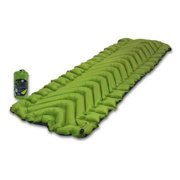 Klymit 06S2GR02C Static V2 Green & Grey Inflatable Sleeping Pad, 16.3 oz