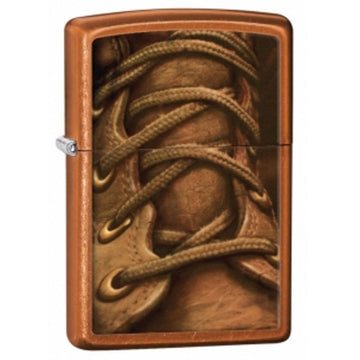 Zippo 28672 Toffee Boot Laces Classic Windproof Pocket Lighter