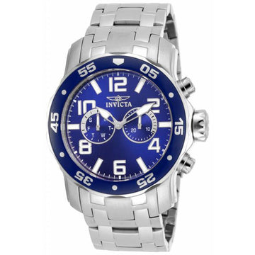 Invicta 17496 Men's Pro Diver Blue Dial Stainless Steel Dive Watch