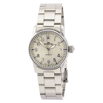 Fortis 621.10.12.M Women's Flieger Beige dial Automatic Watch