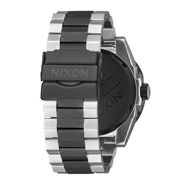 Nixon Men's Bracelet Watch - Corporal SS Black Dial Two Tone Steel | A3462051