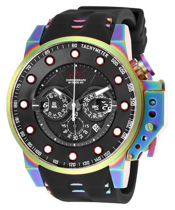 Invicta Men's Chronograph Watch - I-Force Quartz Black Dial | 25276