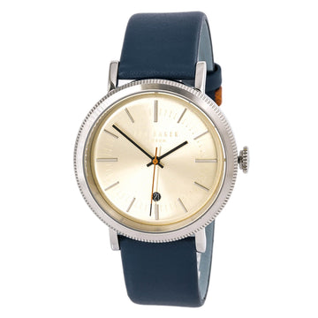 Ted Baker 15062001 Connor Men's Beige Dial Blue Strap Watch