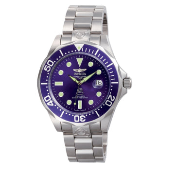 Invicta Men's Automatic Watch - Grand Diver Stainless Steel Bracelet Blue Dial | 3045