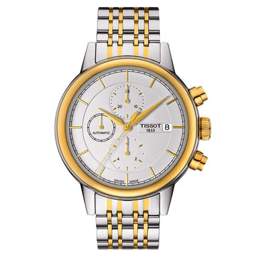 Tissot T085.427.22.011.00 Men's T-Classic Carson Chrono Two Tone Steel