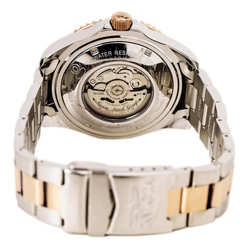 Invicta 15417 Men's Two Tone Rose Gold Bracelet Automatic Pro Diver Grey Dial Watch