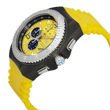 Technomarine Men's Chronograph Watch - Cruise JellyFish Yellow Dial | TM-115112