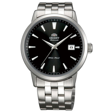 Orient Men's Automatic Stainless Steel Watch - Symphony Black Dial | ER27009B