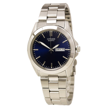 Citizen BF0580-57L Men's Quartz Blue Dial Stainless Steel Bracelet Day Date Watch
