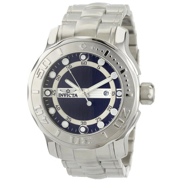 Invicta 0884 Men's Ocean Ghost Pro Diver Black Dial Steel Bracelet Watch