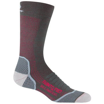 Farm To Feet Women's Socks - Damascus Dark Shadow Light Crew | 8986-021-DSWO