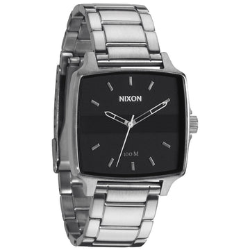 Nixon A357000 Men's The Cruiser Black Dial Stainless Steel Bracelet Watch