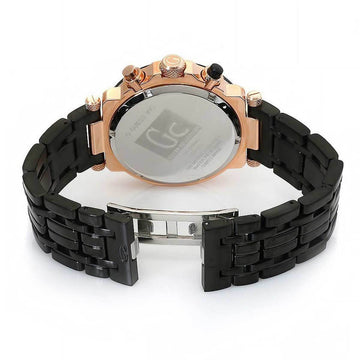 Guess Men's Chronograph Watch - Sport Chic GC-1 Ceramic Bracelet | X90006G2S