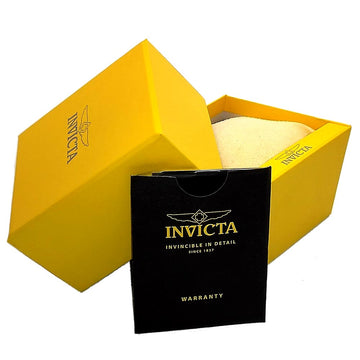 Invicta 11686 Men's S1 Rally Yellow Dial Black Rubber & Grey Nylon Strap Chronograph Watch