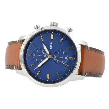 Fossil FS5279 Townsman Men's Brown Leather Band Chrono Watch