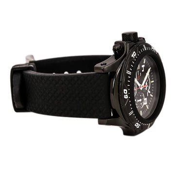 Armourlite AL43 Men's Chrono Quartz Rubber Strap Black Dial Watch