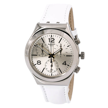 Swatch YCS111 Men's Time to Swatch Chrono Biancamente Watch