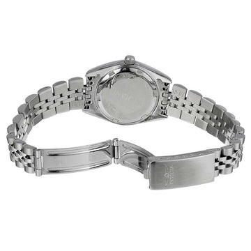 Invicta Women's Stainless Steel Watch - Specialty Silver Dial Bracelet Quartz | 9336
