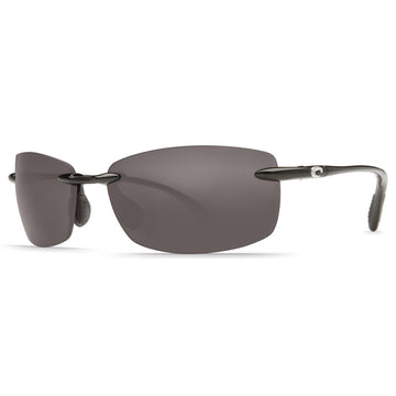 Costa Del Mar BA11OGP2.50 Women's Ballast Readers Polarized 580P Grey Mirror C-mate 2.50 Lens Shiny Black Frame Sunglasses