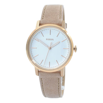 Fossil ES4185 Neely Women's White Dial Sand Strap Watch