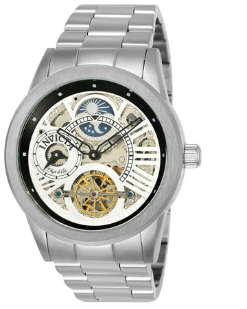Invicta 25263 Men's Objet D Art Automatic Skeleton Dial Stainless Steel Bracelet Watch