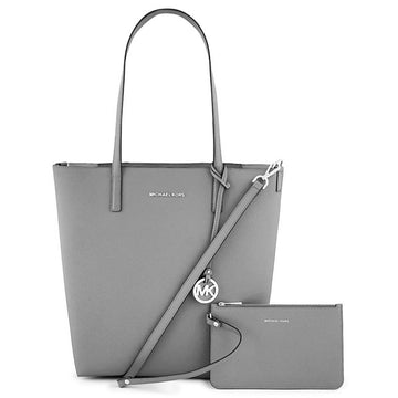 Michael Kors Women's PVC Shoulder Tote - Hayley Convertible Large | 30H5SH3T9B-902