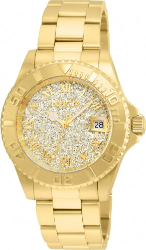 Invicta 22707 Women's Angel Gold Tone Bracelet Swiss Quartz Watch
