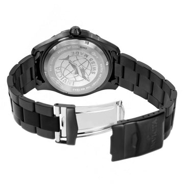 Invicta Men's Bracelet Watch - Pro Diver Swiss Black Dial Black IP Steel | 25818