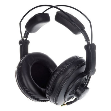 Superlux HD-668B Dynamic Semi-Open Professional Studio Monitoring Standard Black Headphone