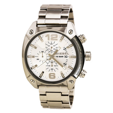 Diesel DZ4203 Men's Steel Bracelet Chrono Overflow Watch