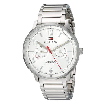 Tommy Hilfiger 1791355 Will Men's Silver Tone Dial Watch