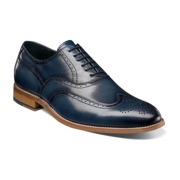 Stacy Adams 25064-401 Men's Dunbar Indigo Oxford