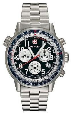 Wenger Men's Swiss Made Commando SR Chronograph 70877