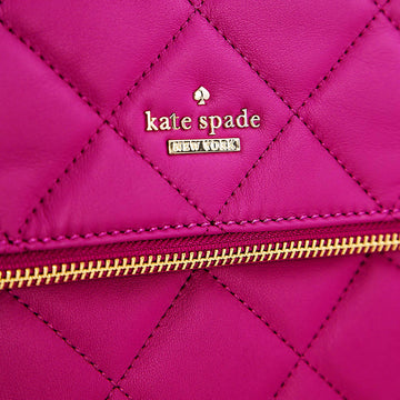 Kate Spade PXRU5575-658 Emerson Place Carson Berry Tartlet Leather Women's Crossbody Shoulder Bag
