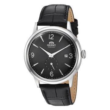 Orient Men's Automatic Watch - Bambino Small Seconds Black Leather Strap | AP0005B10A