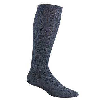 Wigwam Women's Knee High Socks - Cable Lightweight, navy | F5302