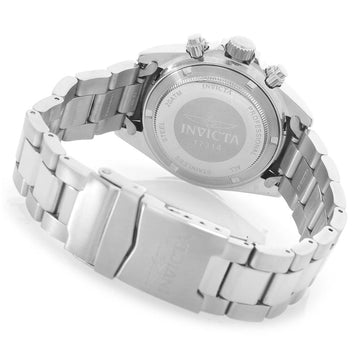 Invicta 17311 Men's Speedway Silver Dial Quartz Chronograph Steel Bracelet Dive Watch