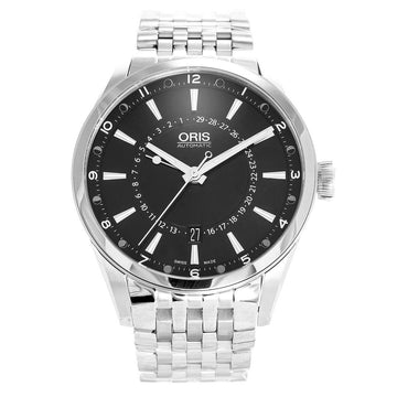 Oris 76176914054MB Artix Pointer Moon Men's Black Dial Watch