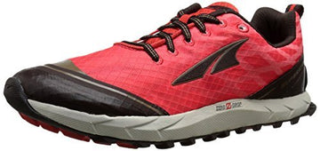 Altra A2652-4 Women's Superior 2.0 Poppy Red & Chocolate Trail Running Shoe