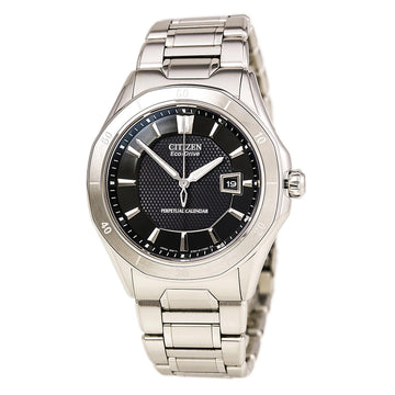 Citizen Men's Eco-Drive Watch - The Signature Octavia Perpetual Calendar Black Dial