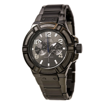 Guess U0218G1 Men's Gunmetal Steel Bracelet  Watch