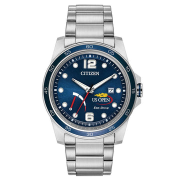 Citizen AW7036-51L Men's PRT U.S. Open 25th Anniversary Commemorative Edition Navy Blue Dial Watch