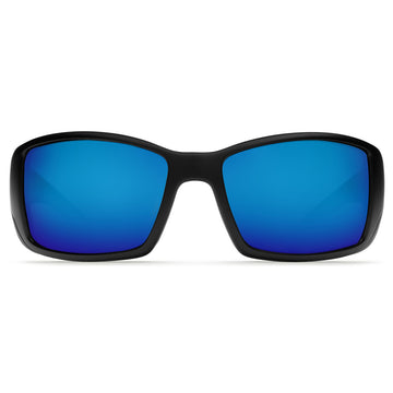 Costa Del Mar BL11GFOBMGLP Men's Blackfin Polarized Blue Mirror 580G Lens Matte Black Frame Sunglasses