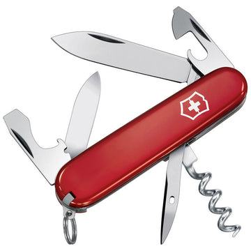 Swiss Army 53151 Victorinox Everyday-Use Spartan Red Handle Pocket Knife